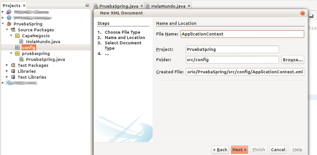 crear xml applicationContext