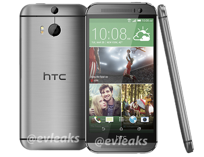 nuevo htc one color plata
