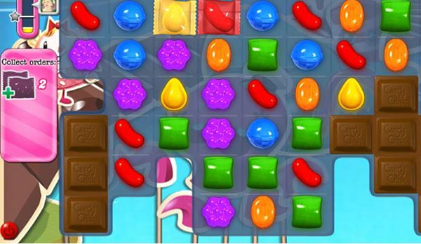 candy crush chocolate