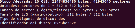 Cómo crear particiones con fdisk