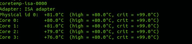 Cómo ver la temperatura del procesador desde la consola
