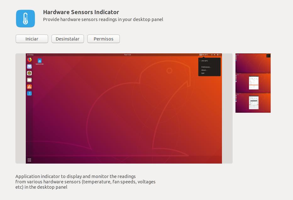 Cómo ver la temperatura del procesador en Linux
