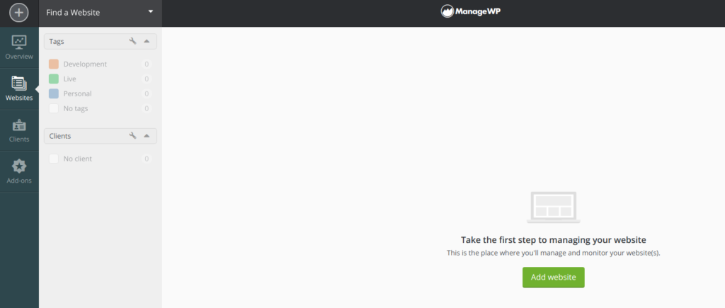 ManageWP. Gestiona tus WordPress de forma centralizada.