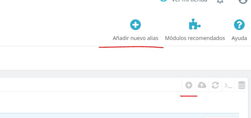 Cómo crear un alias de búsqueda en Prestashop